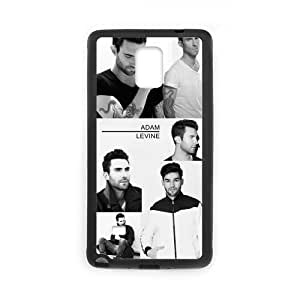 Unique Printing Skin Shell Adam Levine Maroon 5 Pattern Phone Case for SamSung Galaxy Note4,TPU+PC Material Diy Cover Case s6-linda22