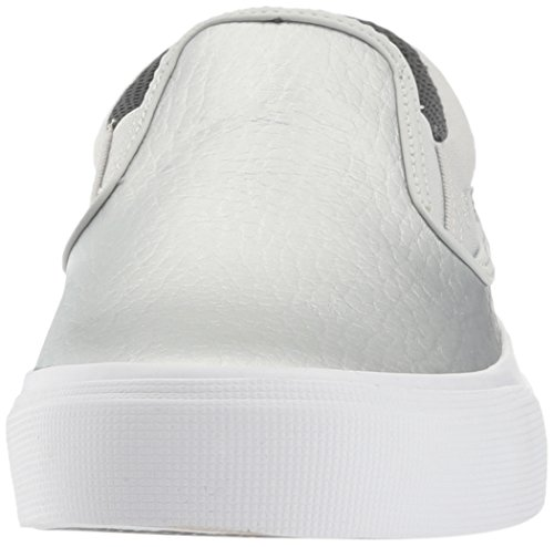 DC Women's Trase Slip-on SE Skateboarding Shoe, Silver, 8.5 B US by DC (Image #4)