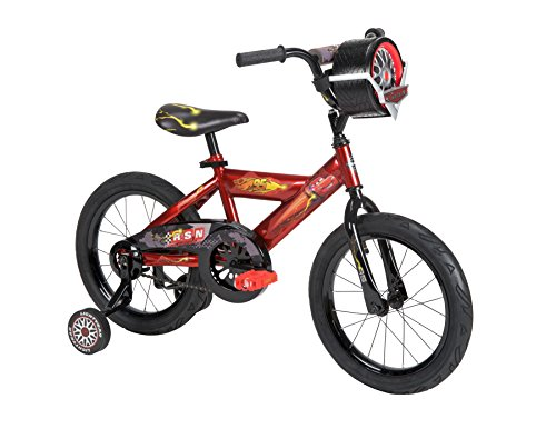 Huffy Bicycle Company Number 21785 Disney Cars Bike, Racing Red/Gloss Black, 16-Inch