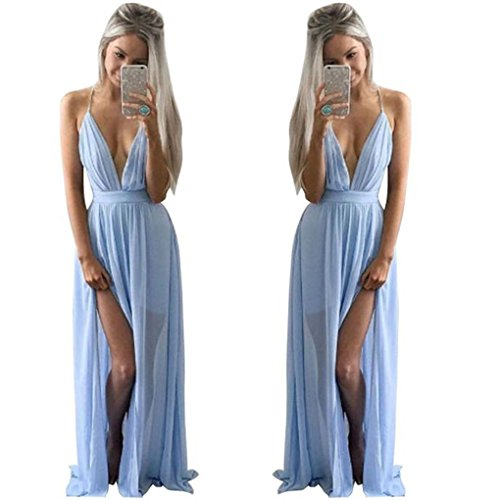 Haoricu Chiffon Sleeveless Evening Dressss product image