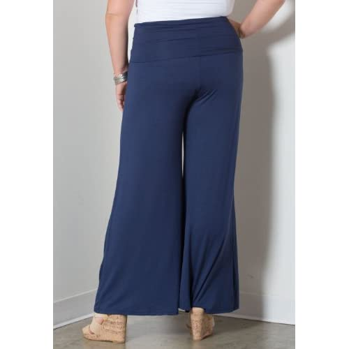 54d39552960 SWAK Womens Plus Size Classic Jersey Pants in Navy cheap ...