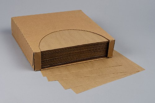 Waxed Kraft Liners (12x12 Waxed Paper Wrap or Basket Liner Sheet, NATURAL KRAFT, 1000 Sheets Per Box, 7B4-NK)