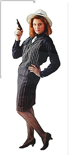 Gangster Moll Costume (Adult 8-12) (Female Gangster Costume)