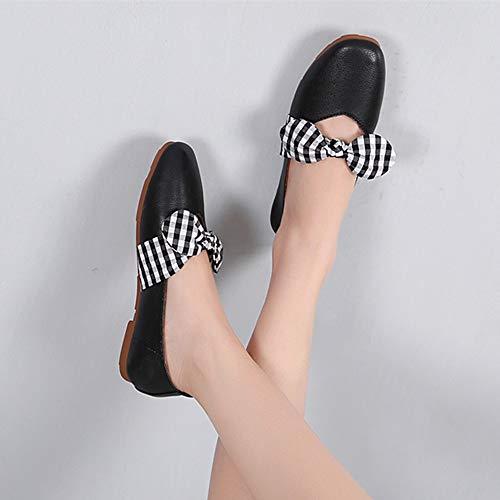del FLYRCX los Arco Zapatos A Mujeres Las de Zapatos de Dulces Ocasionales Trabajo de señoras del Planos Zapatos Embarazadas cómodos Las YccWrC
