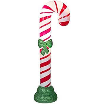 Amazon Com Holiday Living 42 Quot Lighted Christmas Candy
