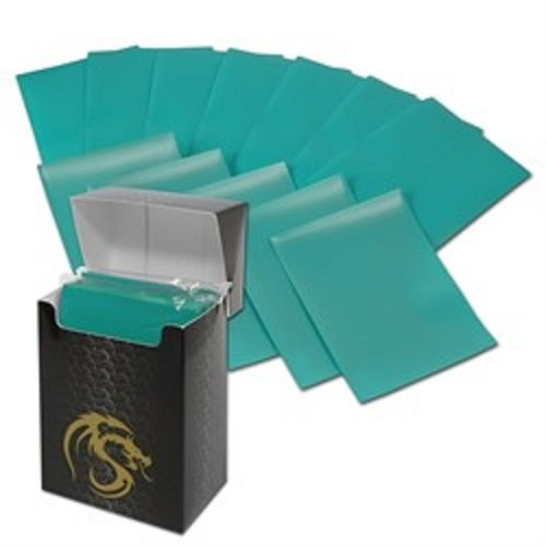 (36) Teal BCW Deck Guard Packs - Trading Card Sleeves - 80 Sleeves per Pack - BCW-DGM80-TEL by BCW