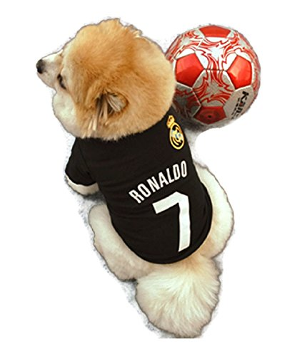 Summer Dog Vest T Shirt Pet Cat Puppy Cotton Blends Clothes Vests Printed Clothing Dogs Costumes (S)