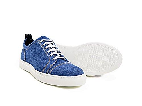 Dis Pietro - Sneakers Bassa Denim Light La Tua In Light 100 Made Italy E Personalizzabile