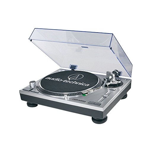 Audio-Technica AT-LP120-USB Direct-Drive Professional Turntable in Silver (120 Audio)