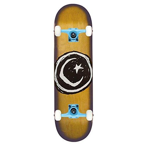 Foundation Skateboard Complete Star & Moon OG Halo 8.375