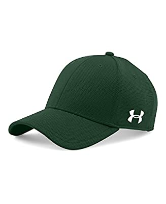 Under Armour Men's Curved Brim Stretch Fit Cap from Under Armour Accessories