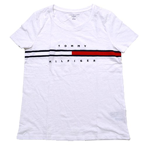 Tommy hilfiger logo tops t shirts the best Amazon price in SaveMoney.es c142d06c07b
