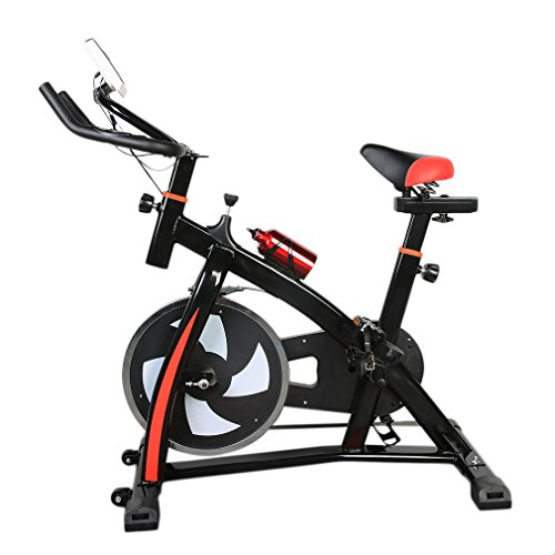 Fitness Exercise Bicycle Indoor Bike Cycling Speed Change Super Resistance Adjustment Cardio Workout