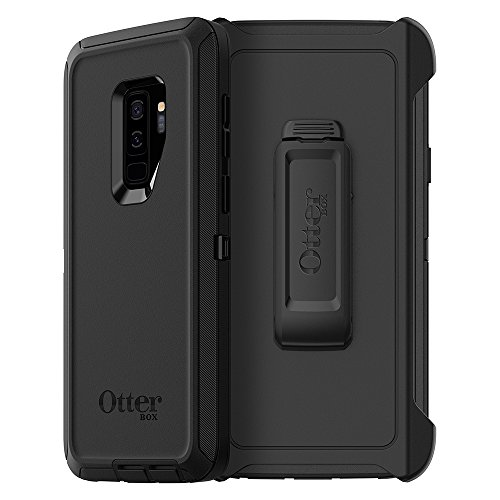 - OtterBox Defender Series Case for Samsung Galaxy S9+ - Frustration Free Packaging - Black