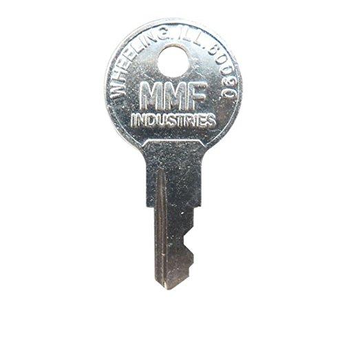 Mmf Cash Drawer 635-2505-BMK MMF Valu-LINE Master Key for Cash Drawer