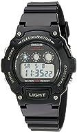 Casio Kids W-214HC-1AVCF Classic Digital Display Quartz Black Watch
