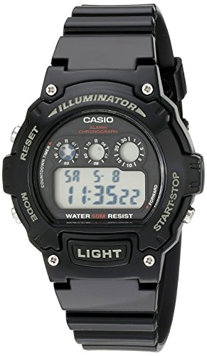 Casio W 214HC 1AVCF Classic Digital Display
