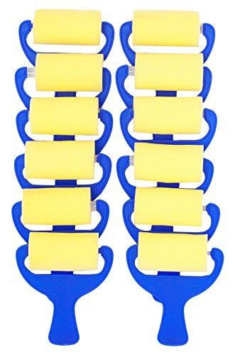 Jack Richeson 699063-12 Plain Foam Brayer (12 Pack), 3