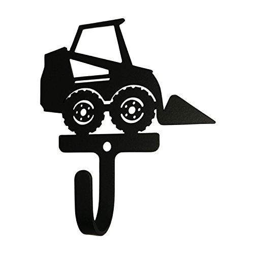 Wh 299 S Skid Steer Silhouette Black Metal Decorative