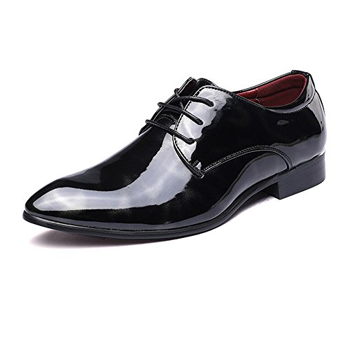 uomo da amp;Baby pittura Dimensione pelle Up astratta classica Top foderato EU all'abrasione in liscia Scarpe Low Sunny Oxford Lace Red liscia Resistente affari Color Nero 42 formale dtEnxW7qxg