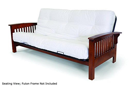 Artiva USA Home Deluxe 8-Inch Futon Sofa Mattress with Inner Spring Made in US Best Quality for...