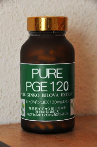 PURE PGE120 (イチョウ葉エキス120mgタイプ) 180カプセル B0087966C2