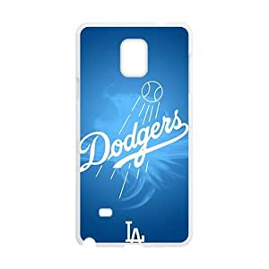 Blue Dodgers Baseball Design Hard Case Cover Protector For Samsung Galaxy Note4