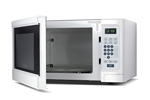 Westinghouse WCM11100W 1000 Watt Counter Top Microwave Oven, 1.1 Cubic Feet, White Cabinet