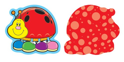 Ladybugs Mini Cut-Outs (Inglés) Productos de oficina – 1 sep 2006 Carson-Dellosa Publishing 160022119X 120030 Education & Teaching