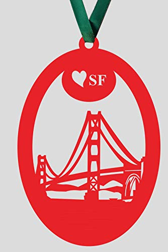((Set of 5) San Francisco Golden Gate Bridge Paper)