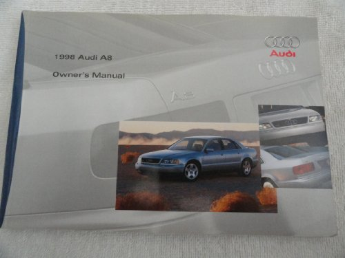 1998 Audi A8 A 8 Owners Manual