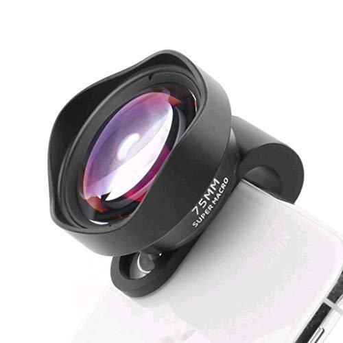 HHL Mobile Phone Universal Professional HD Optical Glass Macro Lens, Black,Self-Timer/Travel/Live Broadcast