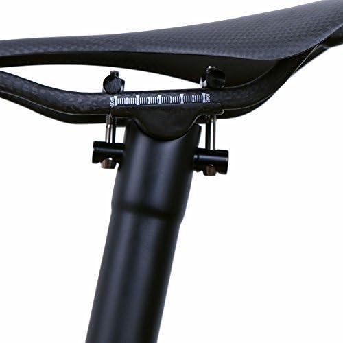Tija de sillín LRGCarbon para bicicleta (fibra de carbono, 135 g ...