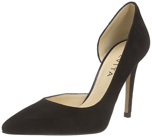 Pump 10 Damen Pumps schwarz Shoes Evita Schwarz wvHE6ZA