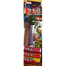 avengers hulk PEZ ON BLISTER CARD WITH REFILL - PLEASE SEE NOTES ON CONDITION by Pez Candy