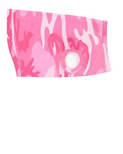 Doggie Skins 3902 Baby Rib Dog Tank - Pink Woodland, Large