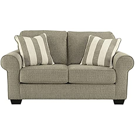 Signature Design By Ashley 4760035 Baveria Loveseat Fog