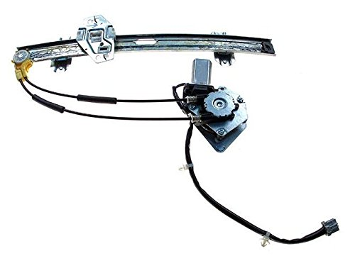Front Driver Window Regulator and Motor NEW for 1994 - 1997 Honda Accord (Sedan and Wagon Only, with 4 pin connector) 72250-SV4-A01 HO1350101 Accord Sedan Wagon