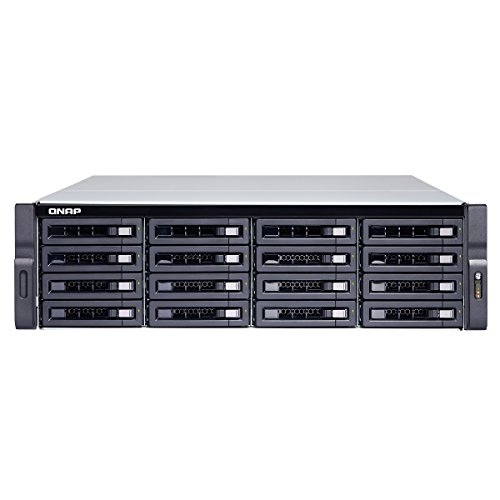Qnap TS-1673U-RP-16G-US 16-bay NAS/iSCSI IP-SAN, 10GbE, Redundant PSU