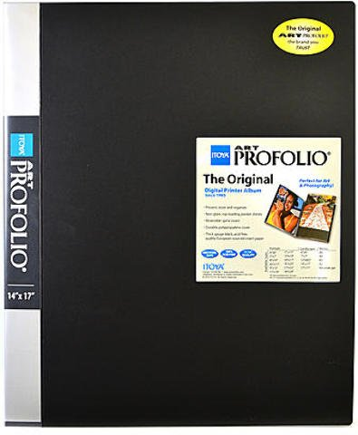 Itoya Art Portfolio Storage/Display Book (14 In. x 17 In.) 1 pcs sku# 1841467MA by ITOYA