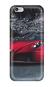 For Iphone 6 Plus Premium Tpu Case Cover 2014 Alfa Romeo 4c By Pogea Racing Protective Case by icecream design