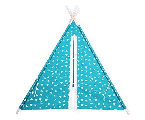 Pillowfort-Explorer-Green-Teepee-Indian-Tent-Kids-Children-Play-house-Canvas-Decor-Decorations-Outdoor-Indoor-Baby-Girl-Boy