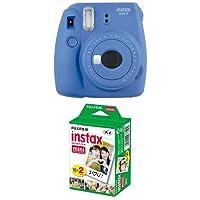 Fujifilm Instax Mini 9 Kamera cobalt blau mit Film