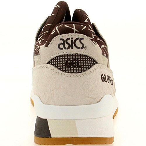 ASICS Mens Gel-Lyte III Dark Brown/Sand H503Q-6205 8