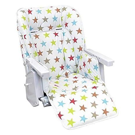 Chaise Ptit En14988 Gamme Nf Bébé Housse Norme ® Enfant 6 Coloris D'assise Pour Haute Monsieur y7Ybf6g