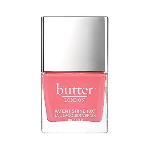 butter LONDON Patent Shine 10X Nail Lacquer Polish, Coming Up Roses, 0.4 fl. oz. ()