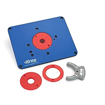 Kreg prs3034 precision pre drilled router table insert plate for kreg prs3034 precision pre drilled router table insert plate for triton router by kreg keyboard keysfo
