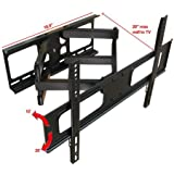 """Impact Mounts Dual Arm Articulating Full Motion Lcd Led Plasma Tv Wall Mount Bracket FITS MOST SCREEN SIZES 32"""" - 70"""""""