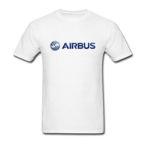 Tianrunyg Mens Airbus Logo Short Sleeves T Shirt Size L Colorname