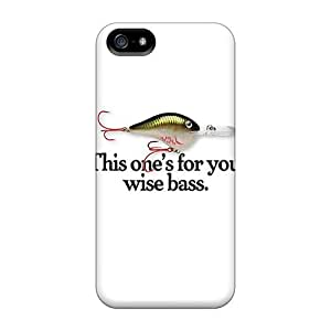 Fashion Protective Fish Bait Case Cover For Iphone 5/5s